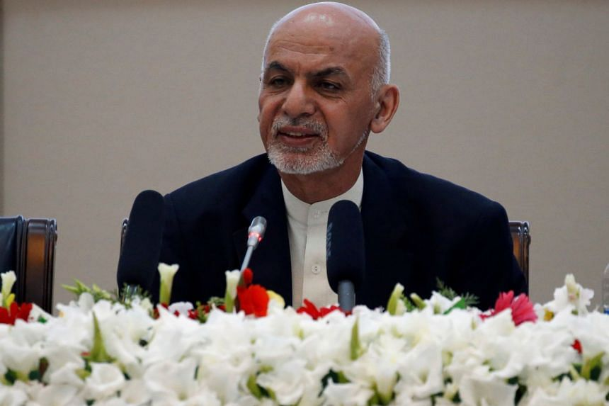 Afghan President Ashraf Ghani called for a truce, after which the Taleban could become a political party and contest elections.
