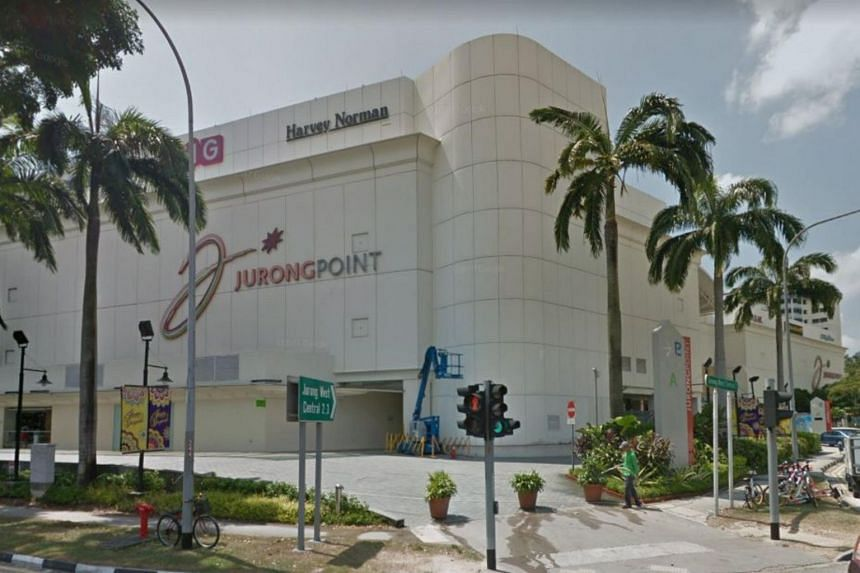 The incident took place at the Jurong West Central 2 mall at 11.30pm last Nov 2.