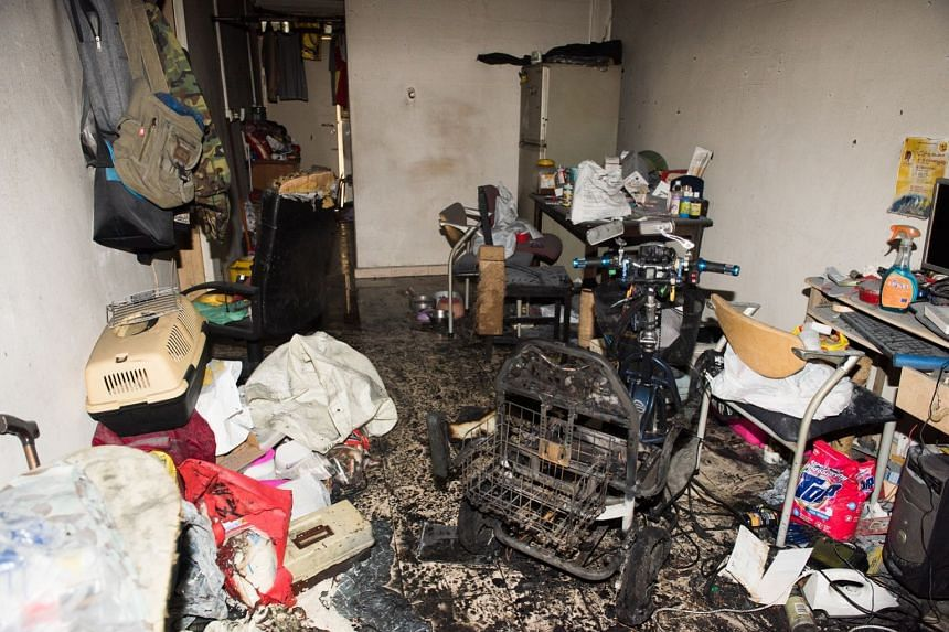 Preliminary investigations found that the fire originated from the battery pack of the personal mobility device which was being charged.
