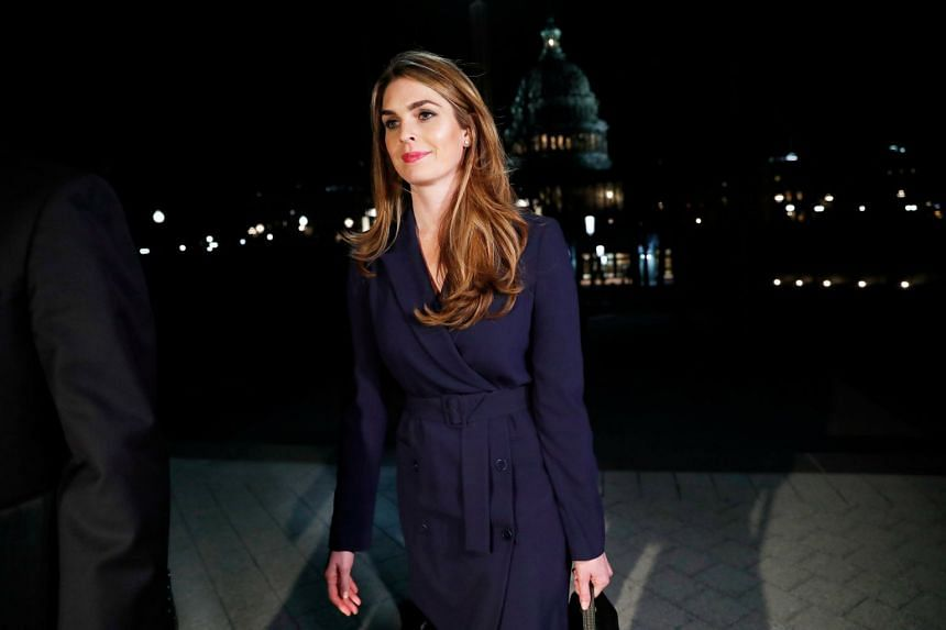 White House communications director Hope Hicks (above) is resigning.