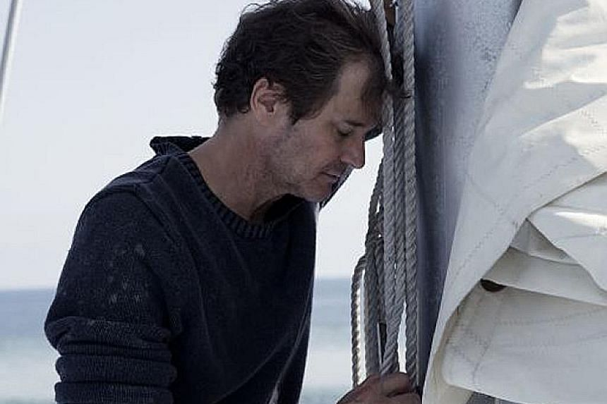 Colin Firth ignores the advice of veterans and goes on a solo trip to circumnavigate the globe in The Mercy.