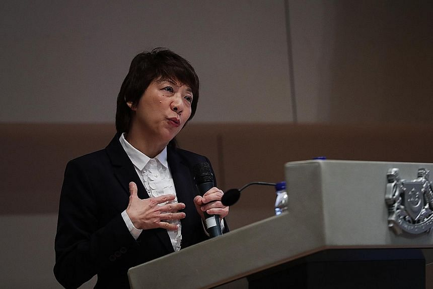 In her speech at the Family Justice Courts' Workplan 2018 seminar, Justice Debbie Ong also stressed the court's role in meeting the needs of various family members embroiled in legal disputes.