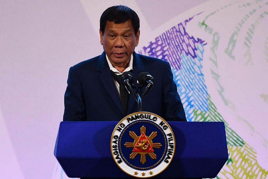 President Rodrigo Duterte's (pictured) idea of a joint exploration with China has been met with concern, with Supreme Court Senior Associate Justice Antonio Carpio warning that this was against the Constitution.