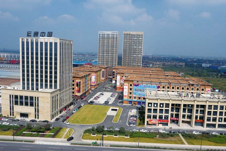 Stage 1 Properties of Bei Gang Logistics, one of the largest e-commerce developments in the Yangtze River Delta in Shanghai.