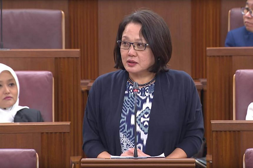 Workers' Party chairman Sylvia Lim's name had been called several times by the Speaker of Parliament on the first day of the debate, but she was not in the House.