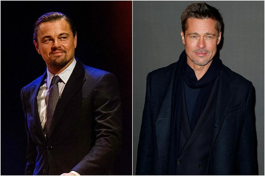 The film will feature Leonardo DiCaprio (left) as the former star of a Western TV series, and Brad Pitt as his longtime stunt double.