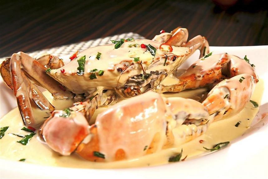 Creamy Butter Crab is one of Mellben Seafood's signature dishes.