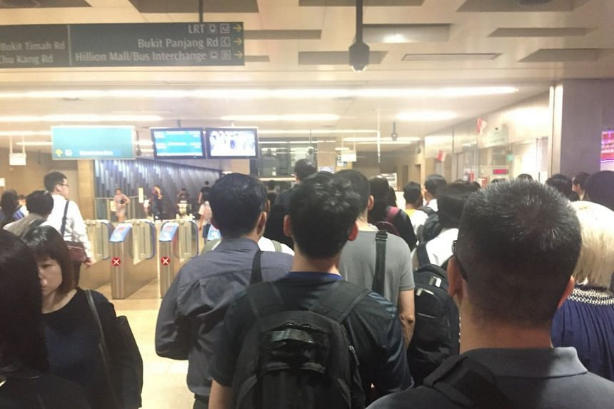 Commuters travelling on the Downtown Line faced delays in their morning commute on March 1 due to a signalling fault.