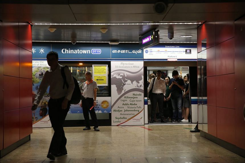 Hundreds of commuters were affected during the morning rush hour, when a signalling fault slowed trains down to a crawl on the new Downtown MRT line on March 1, 2018.