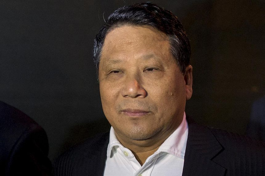 Jeff Yin was charged alongside his former boss, Ng Lap Seng (pictured), who was found guilty of bribing United Nations officials to win their support for a conference centre he hoped to build in Macau.