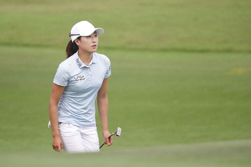 Jennifer Song fired seven birdies on a blemish-free scorecard at the Sentosa Golf Club's New Tanjong Course and was two shots clear of compatriot Michelle Wie and South Korean Ji Eun Hee.