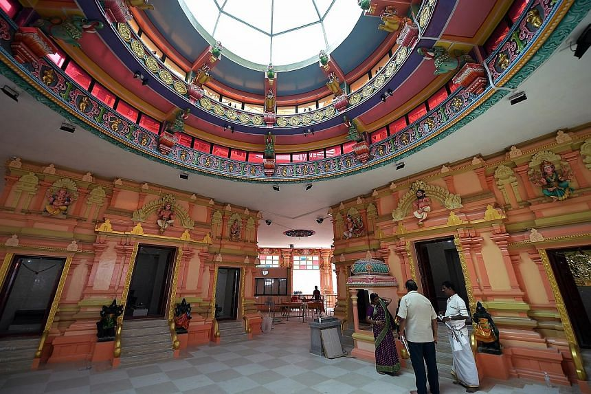 Arulmigu Velmurugan Gnana Muneeswarar Temple (AVGMT) in Sengkang has reopened after a year-long renovation. Costing over $4 million, the renovation of the temple includes a new facade, upgraded facilities and a multi-purpose hall. AVGMT is an amalg