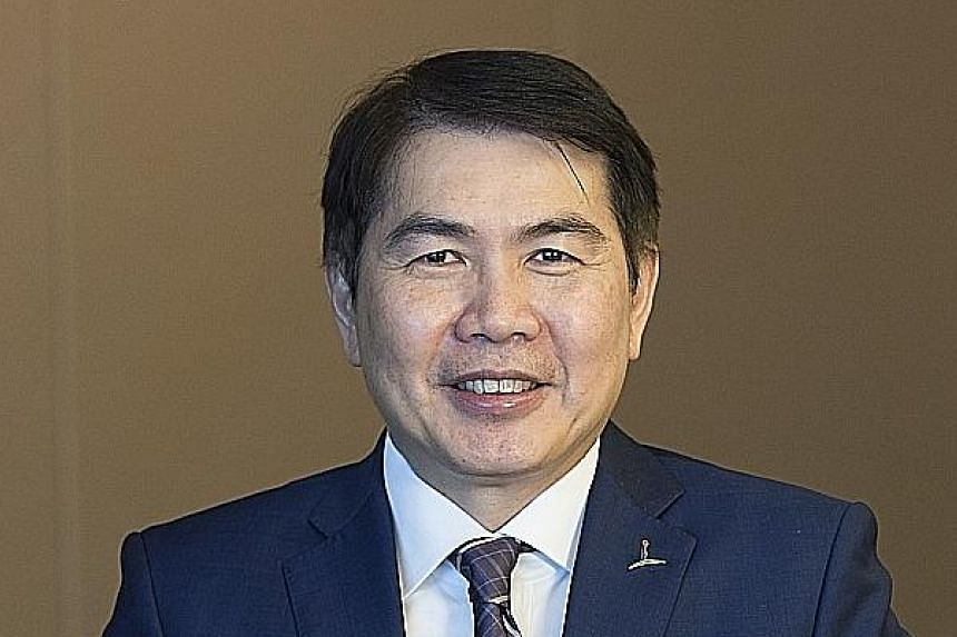 MR LIM MING YAN (above), CapitaLand president and chief executive.
