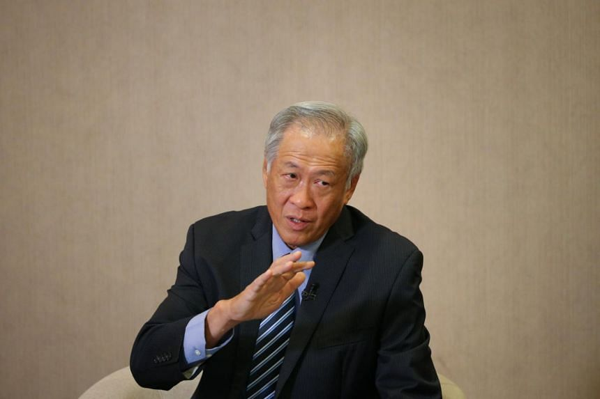 Defence Minister Ng Eng Hen said the Ministry of Defence should maintain a spending that keeps pace with inflation - of around 3 per cent to 4 per cent each year.