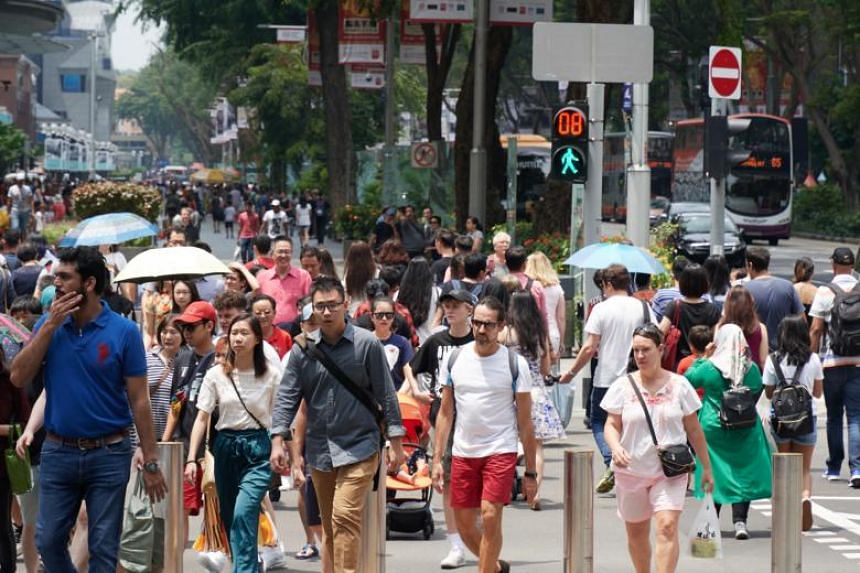 Mrs Josephine Teo, Minister in the Prime Minister's Office, said maintaining immigration will stave off an even sharper decline in Singapore's working-age citizen population, which will soon shrink.
