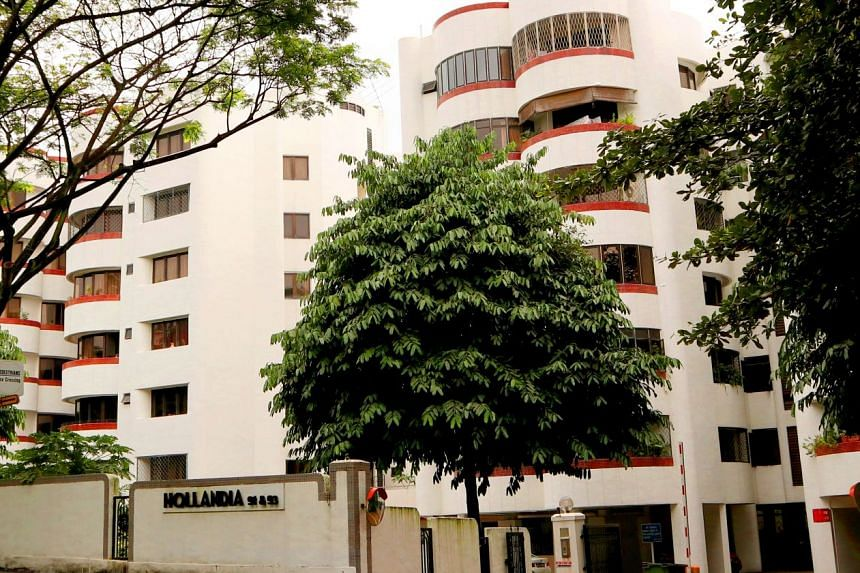Hollandia, a six-storey block of 48 apartments at the junction of Holland Road and Queensway, was built in the mid-1980s.