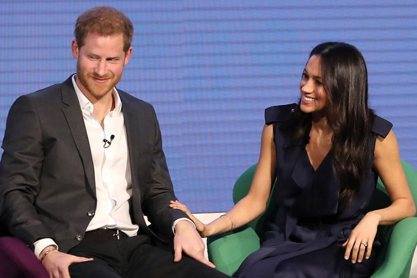 Prince Harry and Meghan Markle are tying the knot at his grandmother Queen Elizabeth's Windsor Castle home on May 19, 2018.