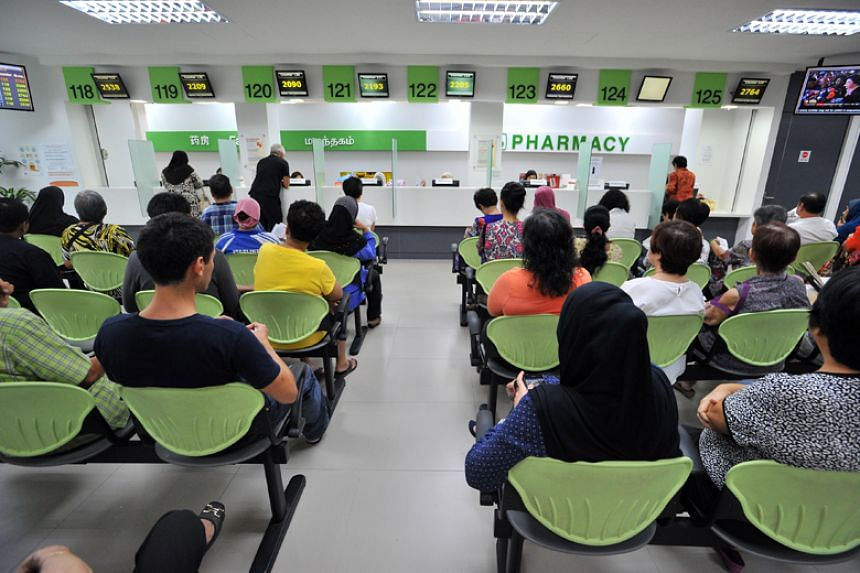 Polyclinics saw more than 3,900 patients from Feb 12-15, 2018, very high numbers compared to the fewer than 3,350 they usually see over a five-day week.