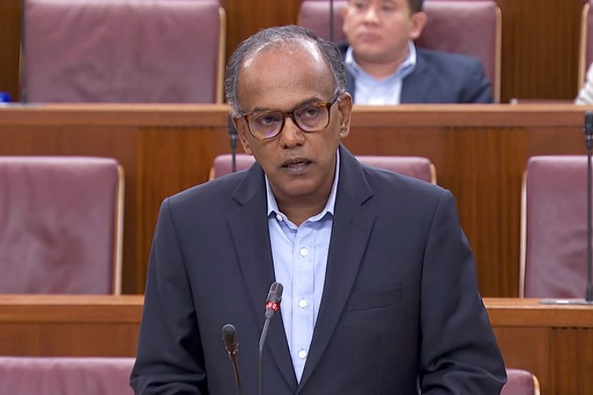 Under the current system, every capital case will be given a second look by the apex court, which comprises at least three judges, Law Minister K. Shanmugam said in Parliament on March 2, 2018.