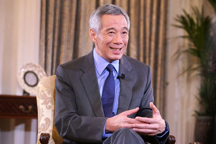 Mr Lee (above, in a file photo) commented on the need to push on to transform the economy, drive innovation, increase productivity, and develop deeper capabilities in workers.