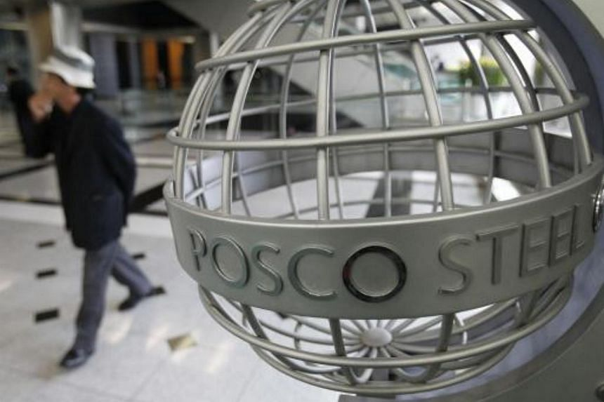 Shares of South Korean steelmaker Posco fell more than 3 percent on March 2 to a four-week low.