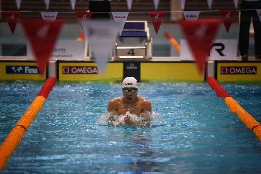 Breaststroke specialist Lionel Khoo holds the 50m, 100m and 200m national breaststroke records for short and long course.