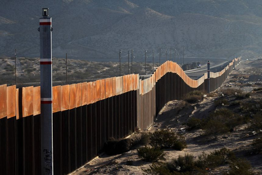 A view of the US-Mexico border wall in Ciudad Juarez in the Mexican state of Chihuahua. American President Donald Trump wants the wall to curb illegal immigration and the flow of drugs from Mexico.