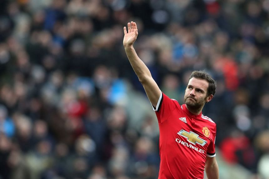 Manchester United midfielder Juan Mata has been deployed in a variety of attacking positions throughout his career, including as a left winger for Valencia and a No. 10 for Chelsea before his move to United in 2014.