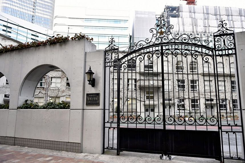 Taimei Elementary School in Tokyo's wealthy Ginza district brought in professional guards after at least three of its pupils encountered abusive strangers.