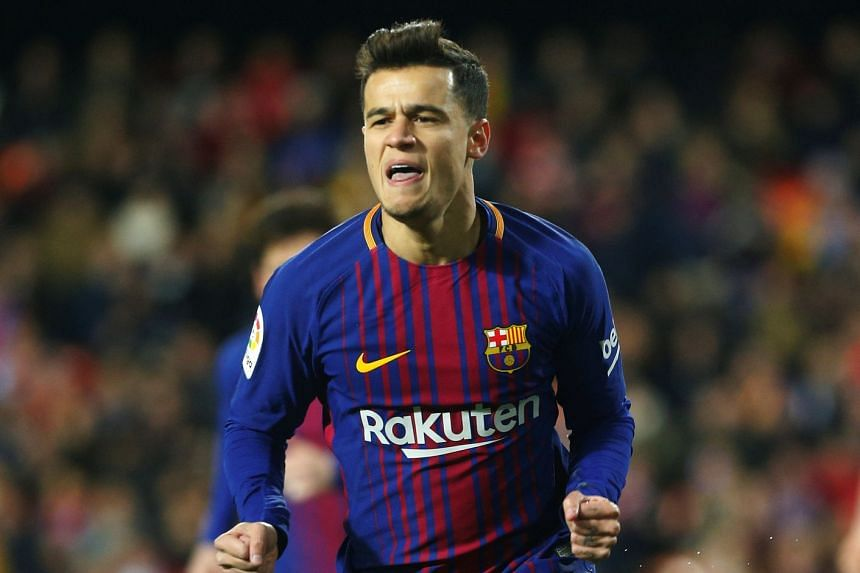 Coutinho (above) was sold to Barcelona in January 2018.