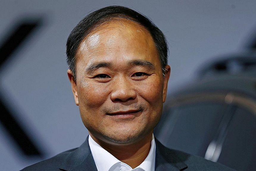 Geely chairman Li Shufu kept his plan to buy shares of Daimler quiet till he became its single largest shareholder.