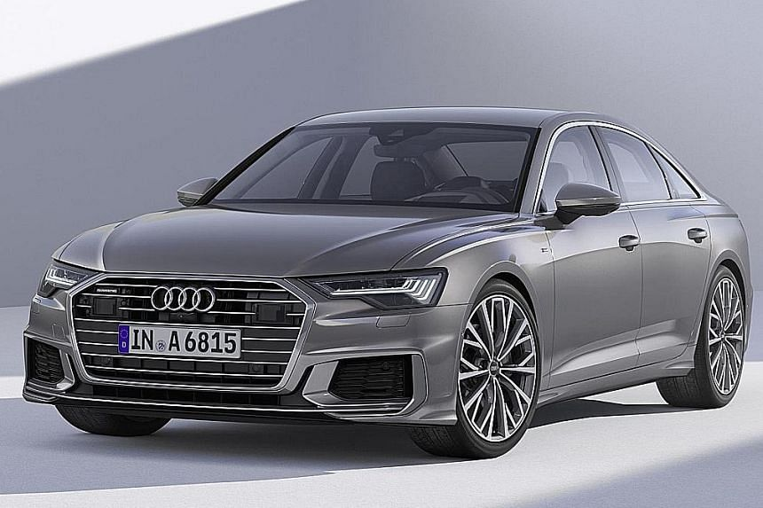 Audi's all-new A6