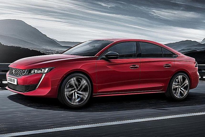 Peugeot's new 508