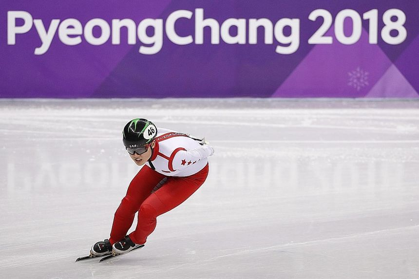 Cheyenne Goh made history when she became the first Singaporean to qualify for the Winter Olympics in Pyeongchang last month. Her experience has left the 19-year-old wanting to push herself to close the gap on the world's best athletes.