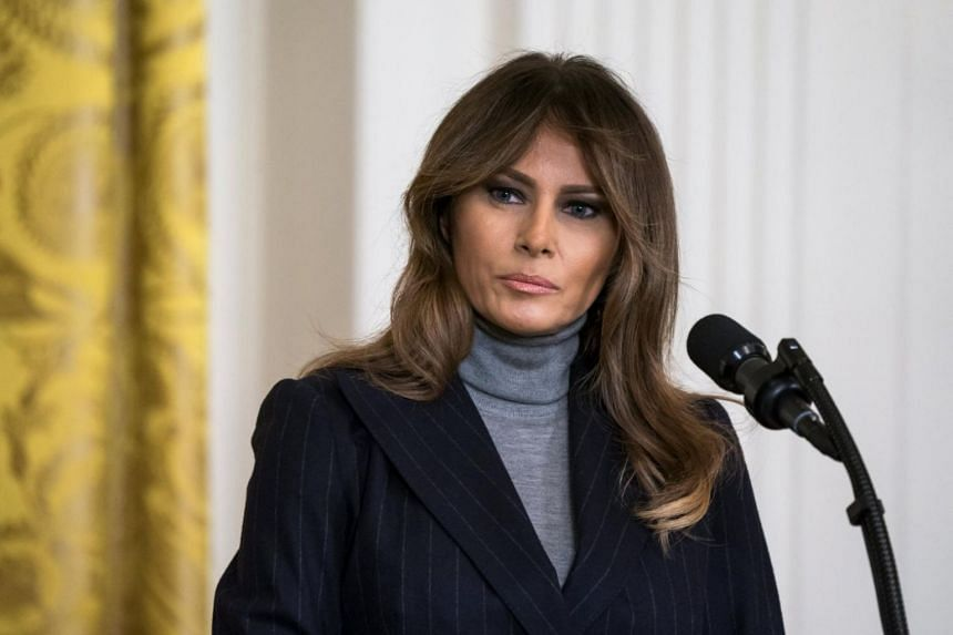 In March 2001, Melania Trump was granted a green card in the elite EB-1 programme, which was designed for renowned academic researchers, multinational business executives or those in other fields.