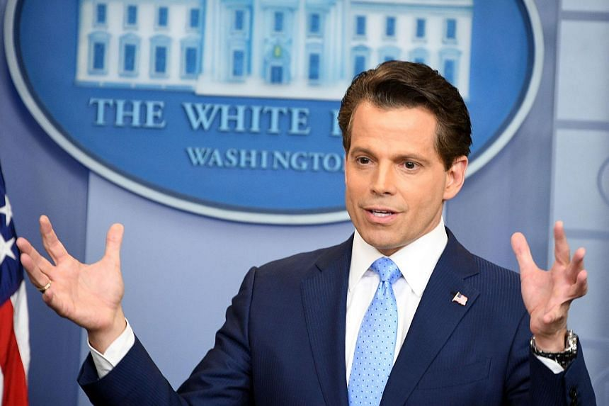 """Anthony Scaramucci is among a group of former staffers who left """"under adverse circumstances"""" placed on an """"administrative exclusion list,"""" said the White House."""
