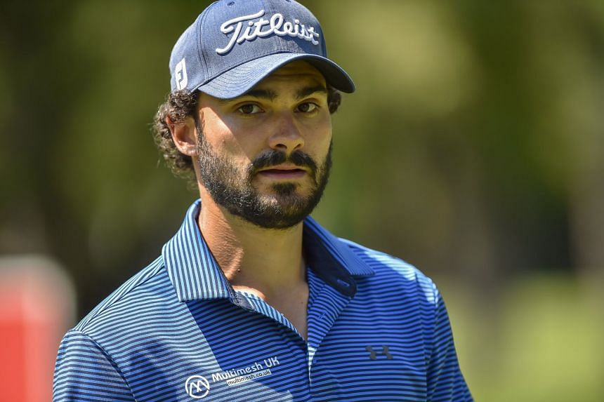 Clement Sordet of France during the second round of the Tshwane Open Golf tournament played at Pretoria Golf Course, Pretoria, South Africa, on March 2, 2018.
