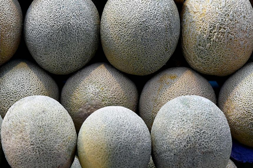 The outbreak is linked to the melons, also called cantaloupes, from a grower in the eastern state of New South Wales.
