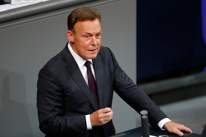 """Thomas Oppermann, vice president of the Bundestag lower house of parliament, said he expected a """"clear approval"""" rate of 55 per cent in an SPD postal ballot."""