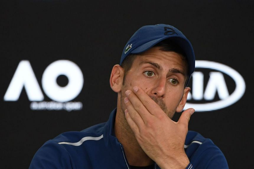 """Novak Djokovic's return to competitive action is yet to be confirmed although he published photos of himself on the practice courts for the first time since he underwent a minor """"medical intervention""""."""