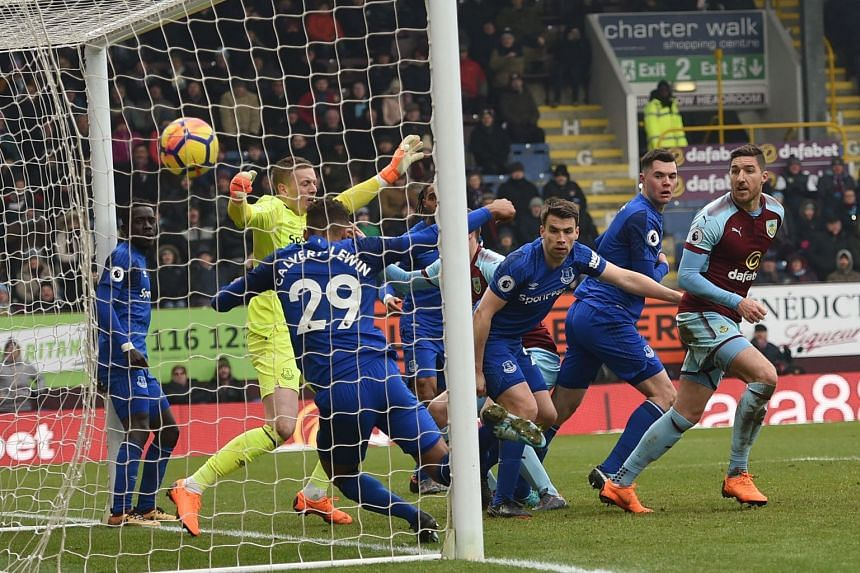 Burnley striker Chris Wood's late header sealed a 2-1 victory over Everton on March 3, 2018.
