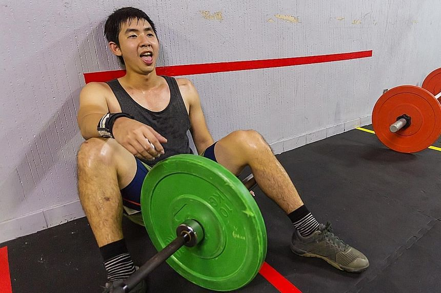 Overtraining - which mostly happens to elite athletes - can lead to depression, injuries and lack of motivation, like exhaustion after a workout in the gym.