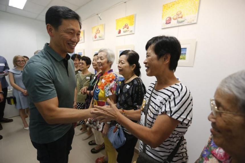 Education Minister (Higher Education and Skills) Ong Ye Kung visited the Pacific Activity Centre in Yishun on Mar 4, 2018. The activity centre runs 10 other centres in constituencies such as Punggol, Tampines and Tiong Bahru where there are clusters