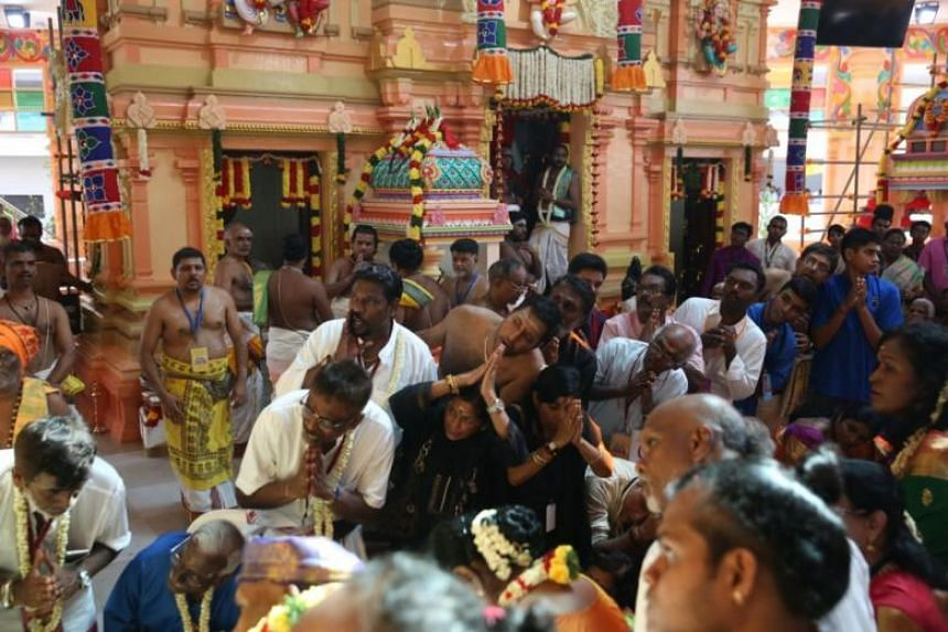It is the first Hindu temple in Singapore to have brought three Hindu temples under one roof.