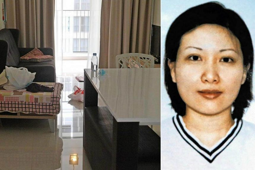 The Tampines flat of Ms Tan Bee Leng that she had been ready to move into before her death in May last year.