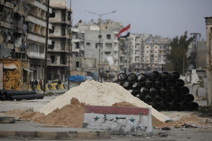 Syrian government forces, with critical help from Iran-backed militias and the Russian air force, recovered full control of Aleppo some 14 months ago, driving out rebels who had held the city's eastern districts.