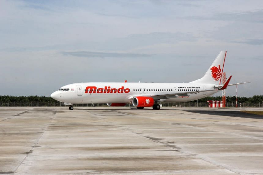 The incident occurred on the Malindo Air flight OD162 on Saturday (March 3).