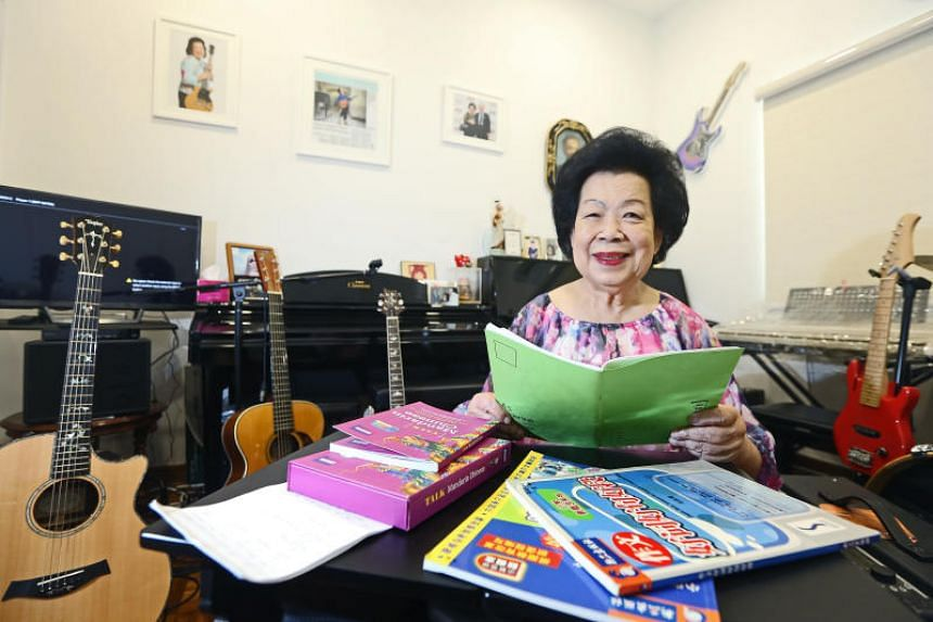 Growing up, Madam Mary Ho said she spoke mainly English and Cantonese at home, and never learnt how to read or write Chinese characters.