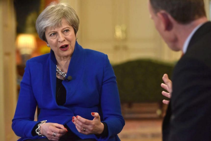 Prime Minister Theresa May said her vision for future ties to the European Union was a credible one and she was confident of reaching a good Brexit deal.
