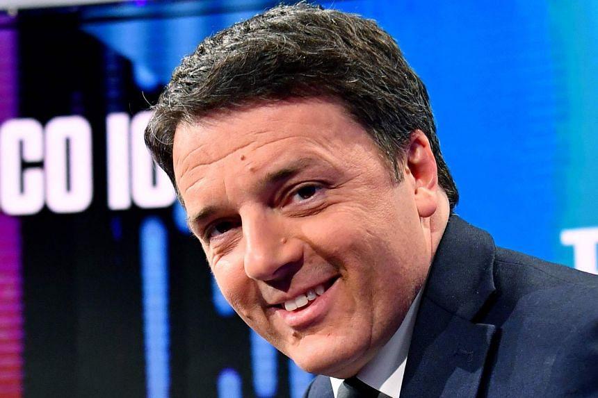 Matteo Renzi .